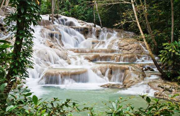 "Dunn's River Falls #waterfall, there are plenty of ways to embrace Jamaica's picturesque Caribbean scenery and laid-back vibes. ""Hurricane season officially ends November 30, so traveling on or before Thanksgiving means you'll be catching the final low rates of the Caribbean's shoulder season before the snowbirds arrive,"" says Lindsey Olander, editor at travel site Jetsetter.com. Even better, in November and December, temperatures hover in the 70s and mid-80s, and you can secure discounted…"