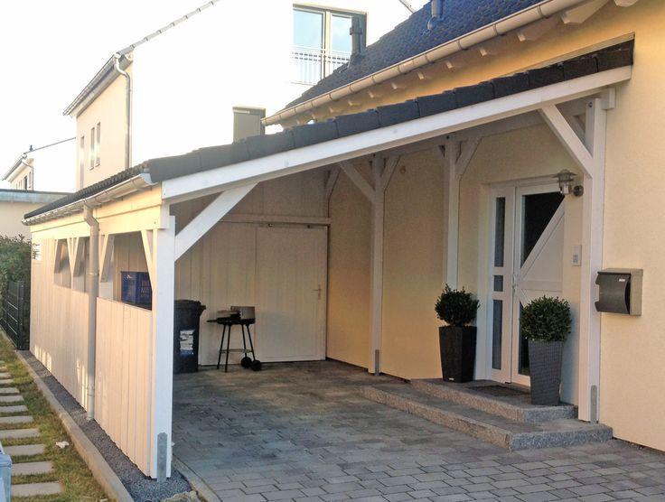 Carport Carport Holz Uberdachung Holz Pultdach