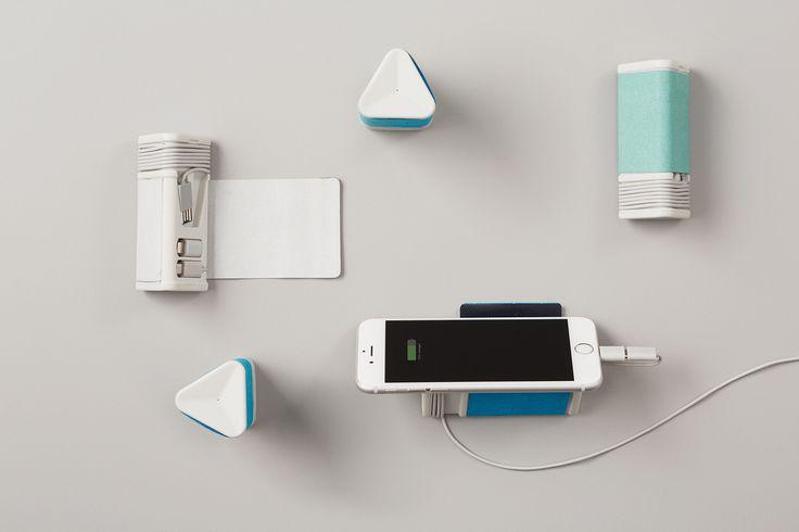 Портативное зарядное устройство зеленый