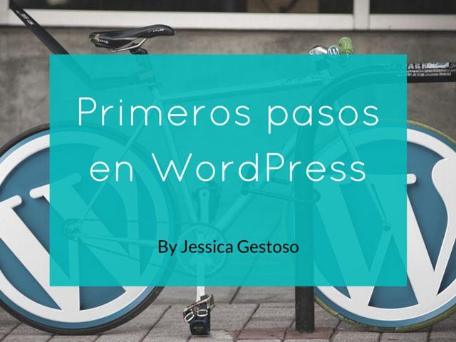 Primeros pasos en WordPress