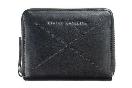 Darius leather wallet in black : for my man