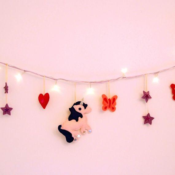 Best Chars London Bedroom Images On Pinterest Unicorns - Pink fairy lights for bedroom