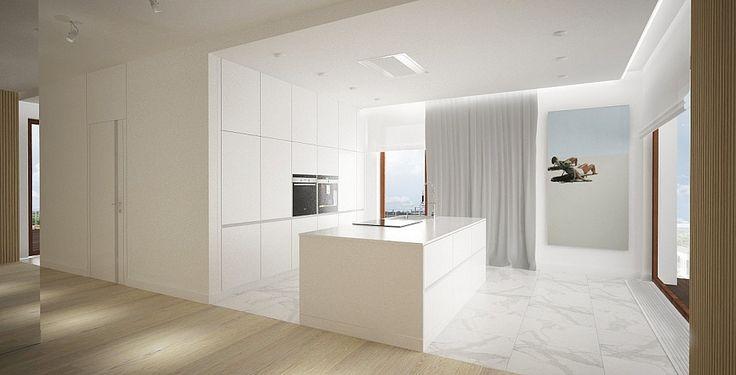 mieszkanie prywatne 3 pokoje - Nowe Orłowo nr 5 - Invest Komfort - Gdynia | Architekt wnętrz - Gdańsk, Gdynia, Sopot - Dragon Art