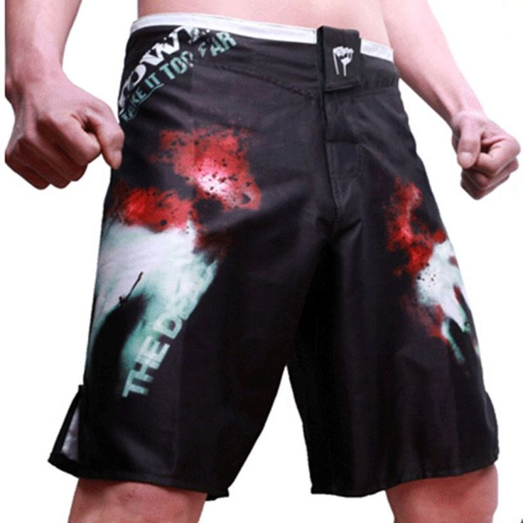 Man Combat Pants Sport Boxing Trunks Multiple Style Wrestling Mens Clothing New #Unbranded