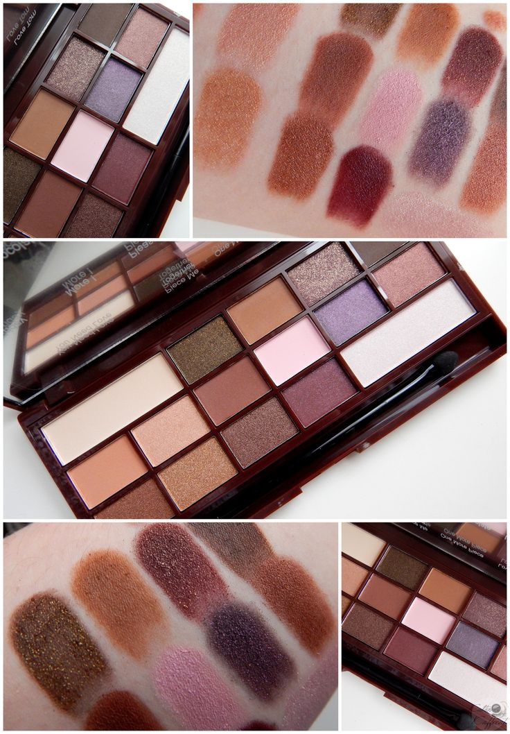 @MURevolution I Heart Chocolate Palette - Too Faced Chocolate Bar Dupe!