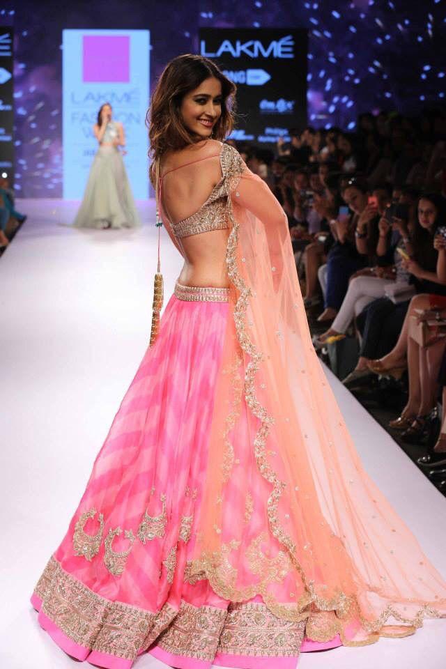 Pink Anushree Reddy bridal lengha