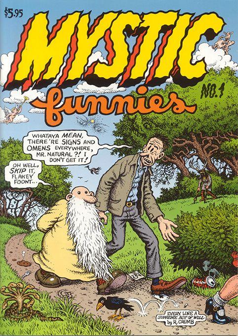 Mystic Funnies 1 by #Robert_Crumb #underground_comics