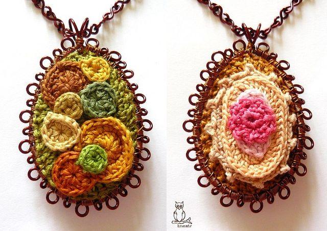 I love these Pendants by kricsár!