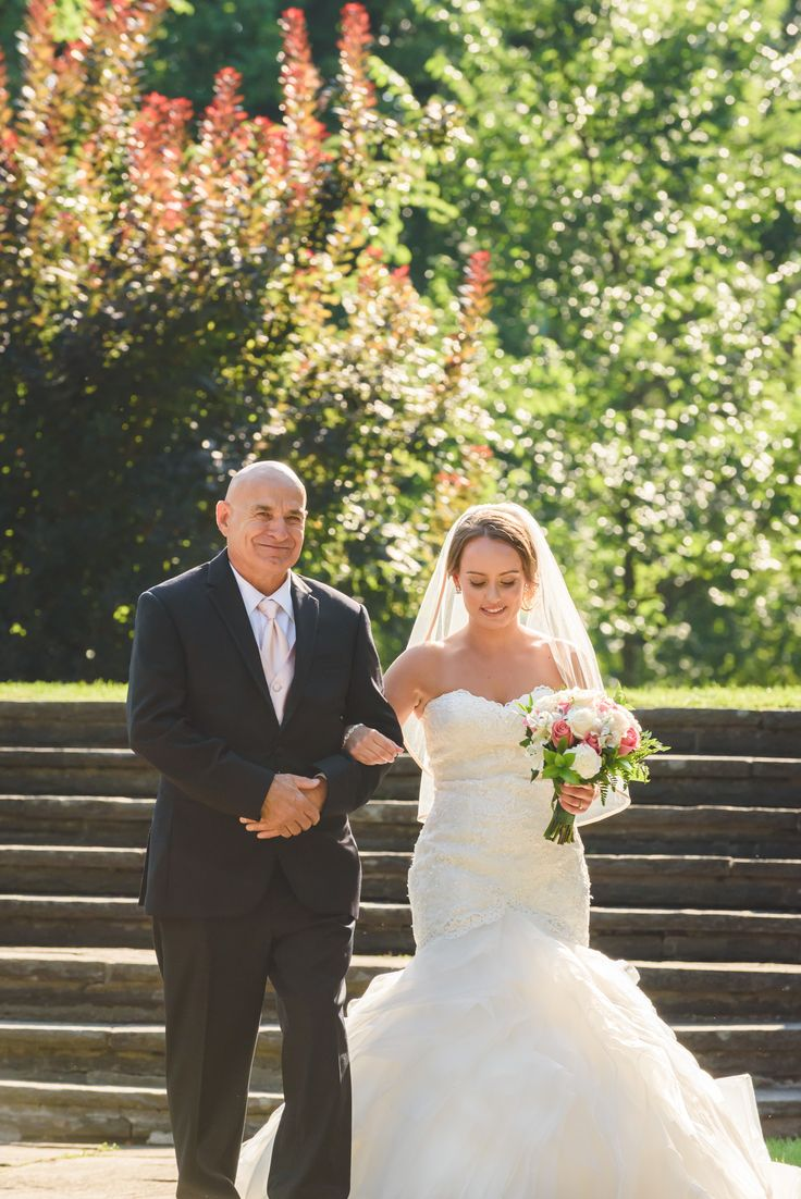Bride & Father of the Bride, August summer outdoor ceremony, Parkwood Estate, Oshawa   Toronto Wedding Photographer Pedram Navid