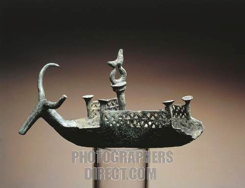 Votive boat from Sardinia. ~10th c. BC