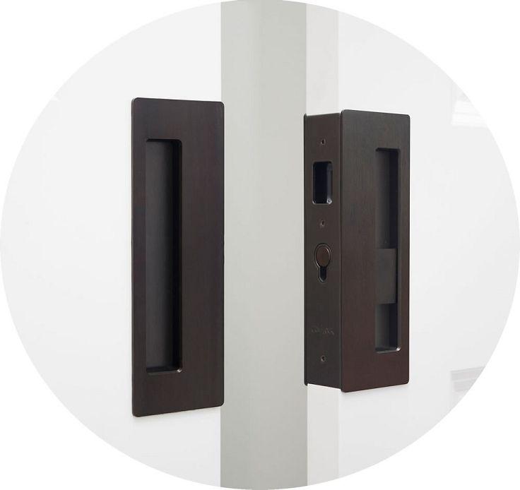 Cavilock CL400D Magnetic Privacy Pocket Door Lock For Bi-parting Doors
