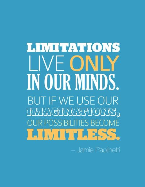 Limitations Live ONLY in our minds!Health Food, Remember This, Dreams Big, Health Care, Limited Living, Mondays Motivation, Health Tips, Daily Motivation, Inspiration Quotes