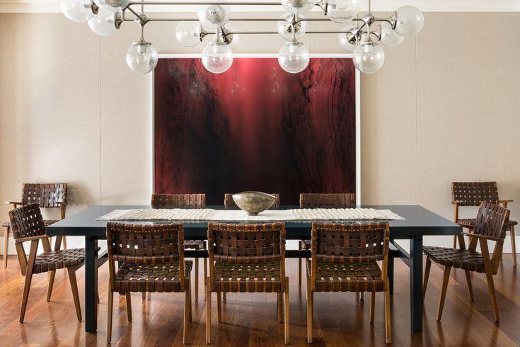 Brentwood dining room by LA based Commune Design.
