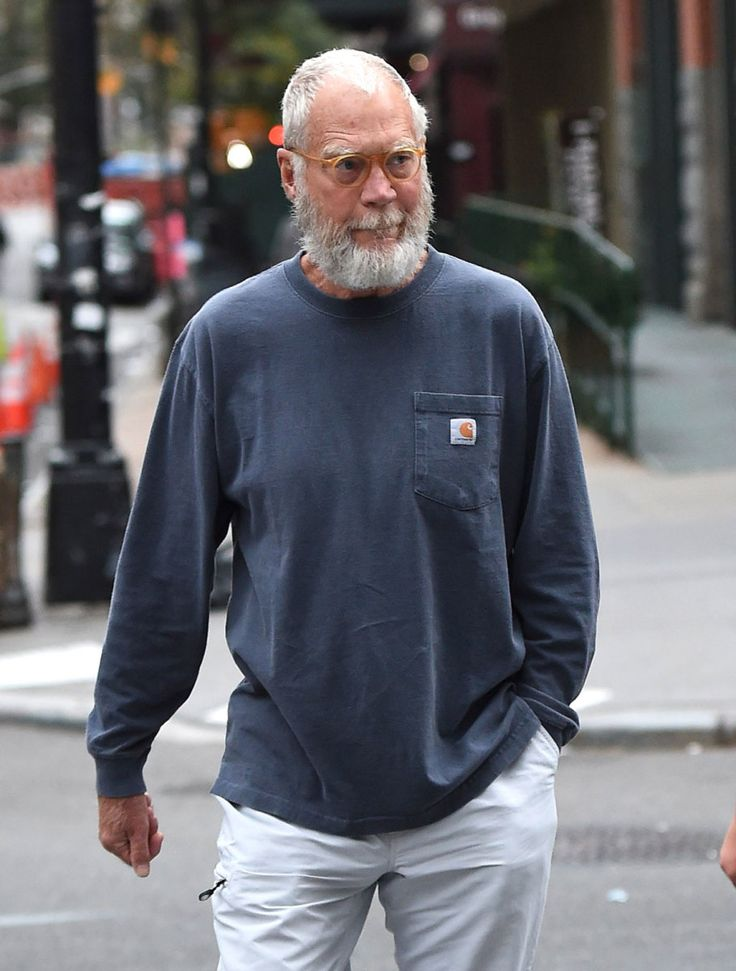 David Letterman sports a popular new status symbol, the achievement beard | The New Yorker