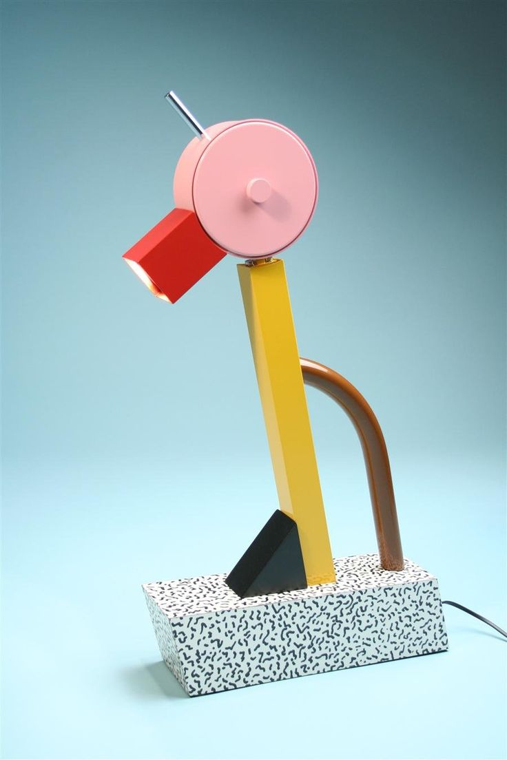 Table lamp tahiti designed by ettore sottsass for for Memphis sottsass