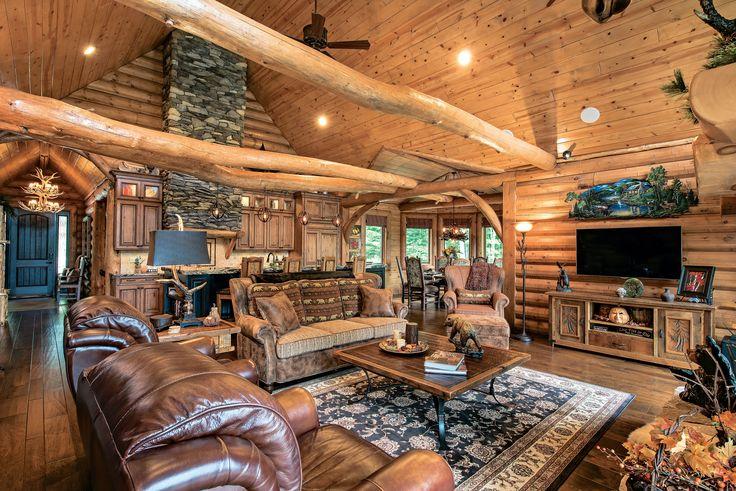 3 Ways to Light a Log Home