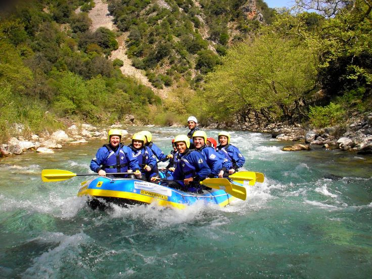 Rafting in Evinos, Nafpaktos, Greece | A Greek Adventure
