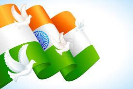 beauty of india's flag -