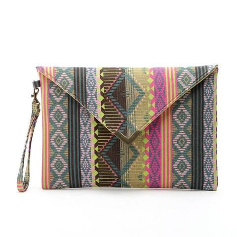 EHBG Geometric Ethnic Pattern Handbag (Available in different COLORS)