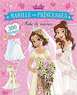 Telecharger Habille Tes Princesses Robes De Mari Eacute Es Gratuit Princess Sticker Paper Dolls Book Wedding Book