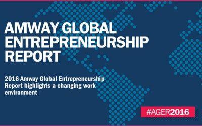 Informe Anual de Amway sobre el Emprendimiento Global Revela Interesantes Hallazgos