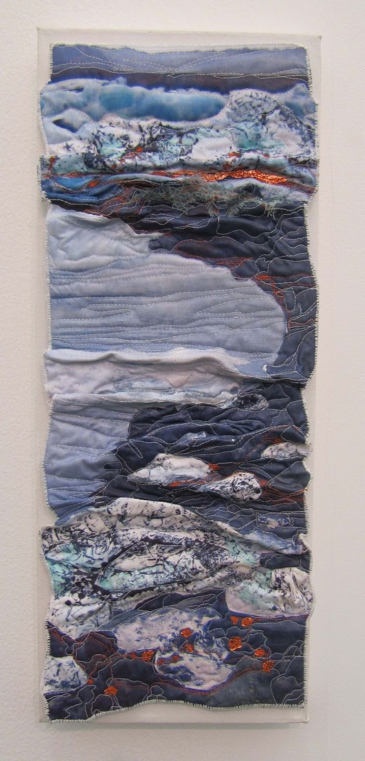 Textile Snippets: January 2013 sandra meech