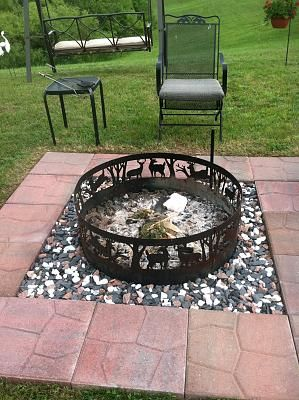 build a fire pit - Fire Rings