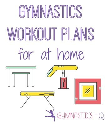 Workout plans you can use with your at home mat, beam, bars along with conditioning plans
