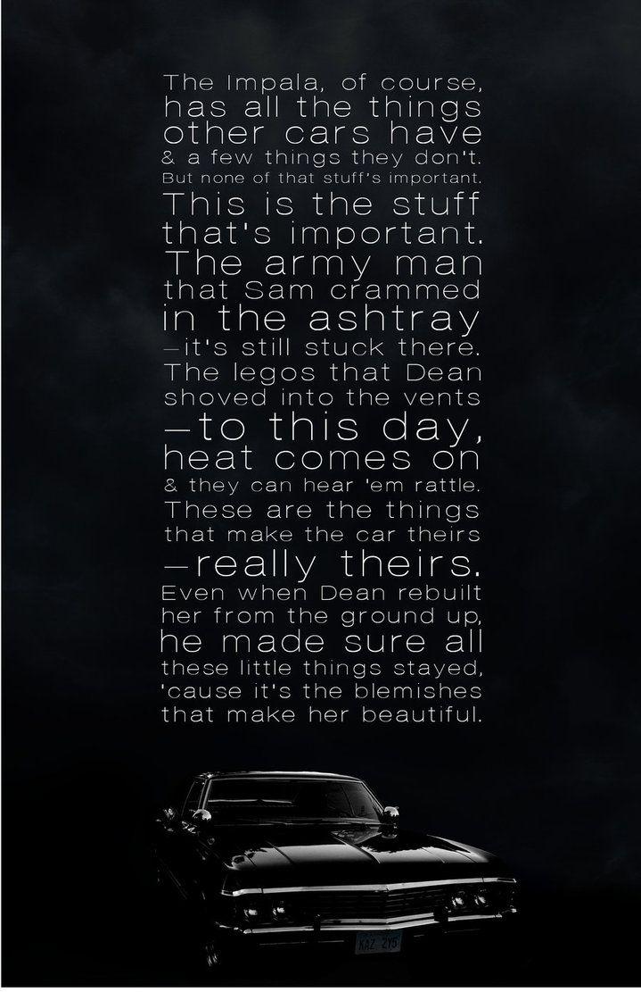 Dream Quotes Iphone Wallpaper Supernatural Impala Wallpaper Google Search