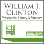The Clinton Presidential Library and Museum is located in Little Rock, Arkansas.  In addition to the archival collection and research facilities, the Clinton Presidential Library and Museum features exhibits, special events, and educational programs. The museum includes replicas of the Oval Office and the Cabinet Room. Permanent exhibits utilize documents, photographs, videos and interactive stations. A timeline and alcoves highlight domestic and foreign policy, and life in the White House.