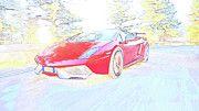 "New artwork for sale! - "" Lamborghini Gallardo 570 Performante by PixBreak Art "" - http://ift.tt/2kwrpNm"