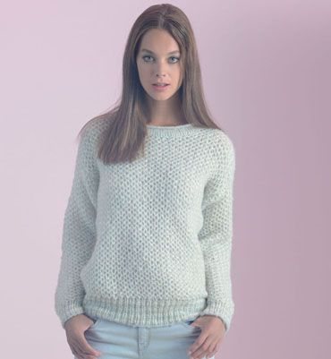 Modèle pull  tube femme - sweater knit pattern
