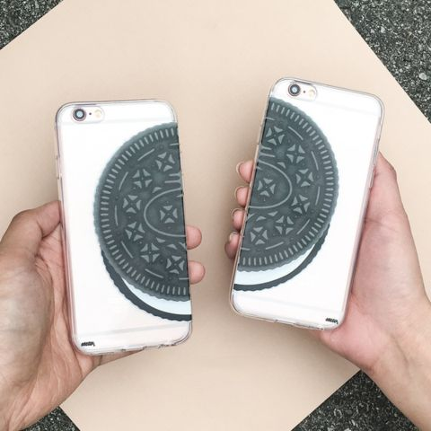 Cookie - Clear TPU Case Cover