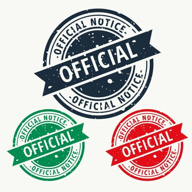 Download Official Notice Stamp For Free Vector Free Stamp Custom Stamps