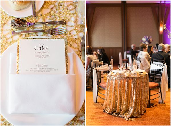 Regal Gold Sequin is making its mark in weddings and events!