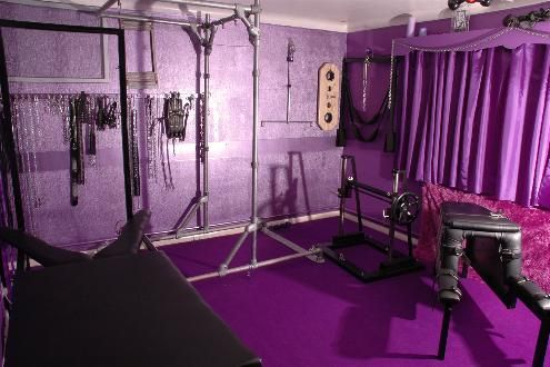 Wouldn 39 t be complete without a purple sex dungeon for for Pleasure p bedroom floor lyrics