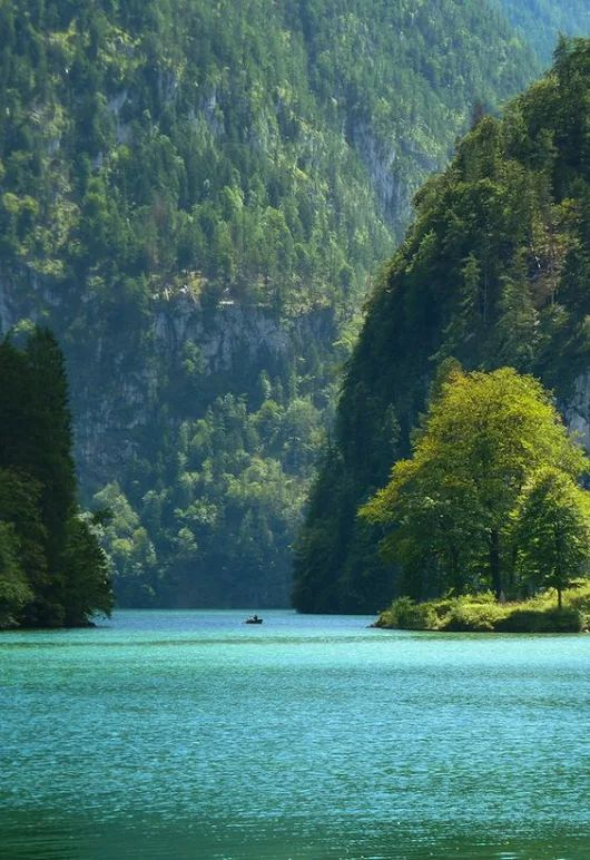 Lake Königssee, Bavaria, Germany
