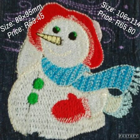 Breezy the snowy snowman up for grabs. Ideal for Christmas stocking and hats