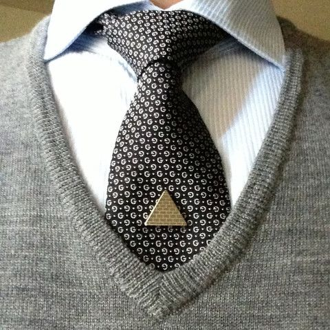 """Make a bold statement with the """"Conversation Starter"""" Tie Mag™  Magnetic Tie Clip. Say goodbye to flyaway ties. A great stocking stuffer for the Holiday season. This Tie Mag™ got its name after many of our clients have b"""