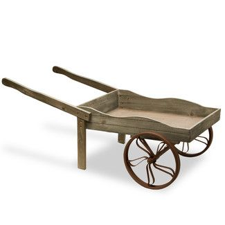 Found it at Wayfair - National Tree Co. Wooden Garden Cart