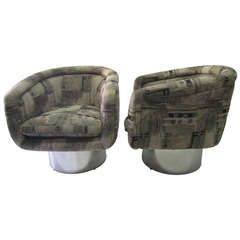 Spendy when you factor in reupholstery cost, but I LOVE them!