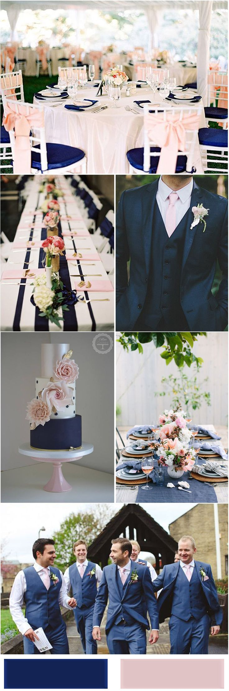 Best 25 Navy blush weddings ideas on Pinterest  Blush