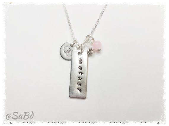 Hey, I found this really awesome Etsy listing at https://www.etsy.com/au/listing/475161453/personalized-mother-charm-necklace