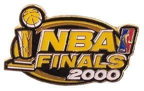 2000 NBA Finals Logo Pin