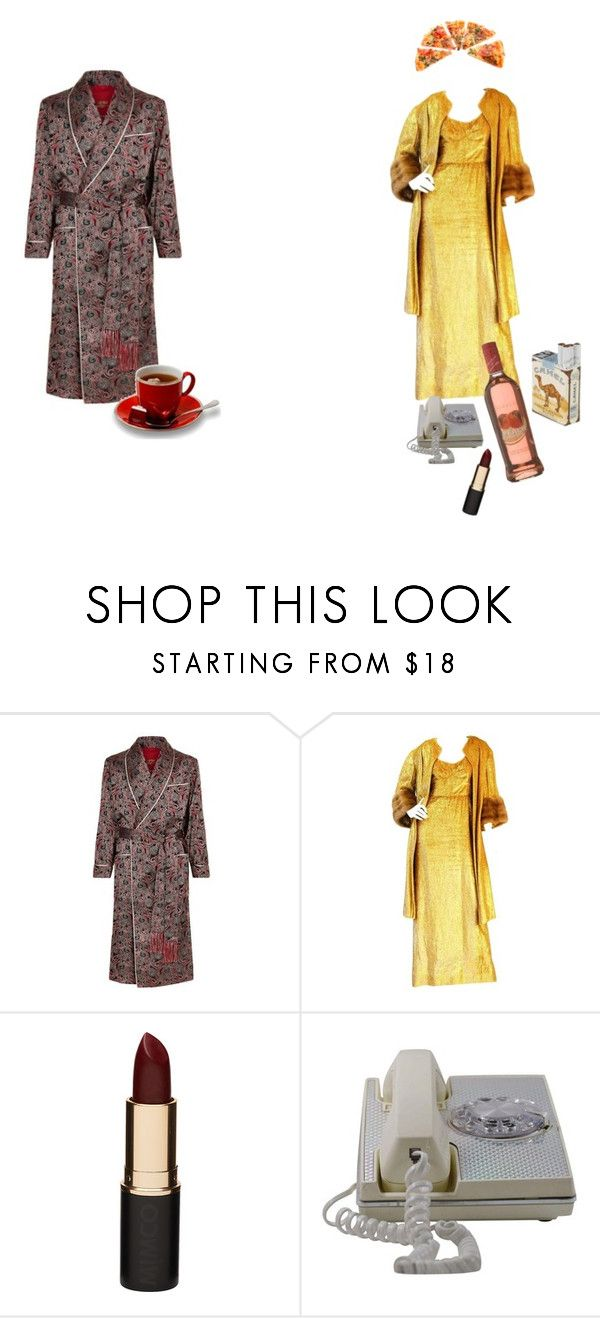 """to Penelope. PULLING MYSELF TOGETHER"" by cirque-du-renovatio ❤ liked on Polyvore featuring Daniel Hanson, Norman Hartnell and Mimco"