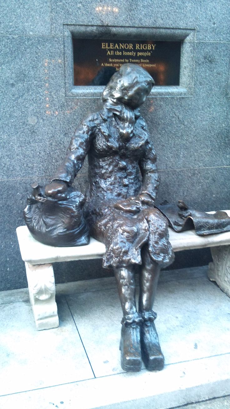 Liverpool, Eleanor Rigby. Made by Tommy Steele