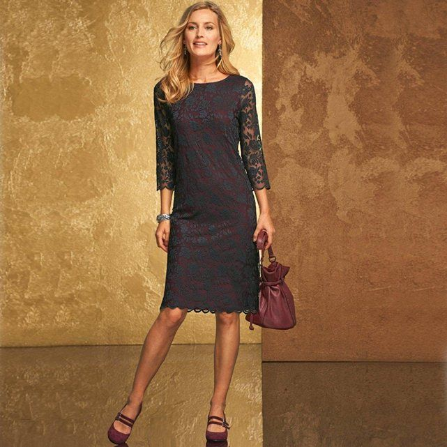 Robe dentelle anne weyburn mode pinterest - Livraison gratuite bazarchic ...