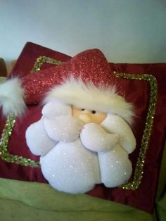 Christmas DIY: Cojines Cojines #christmasdiy #christmas #diy