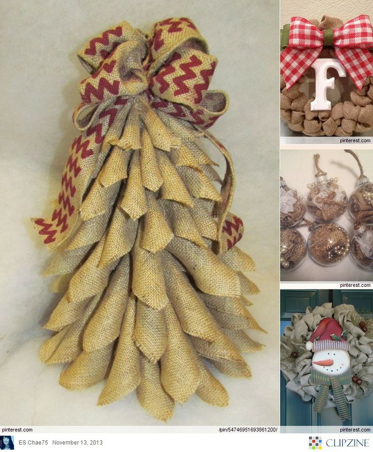 1000 images about burlap beauty on pinterest burlap for Burlap ribbon craft ideas