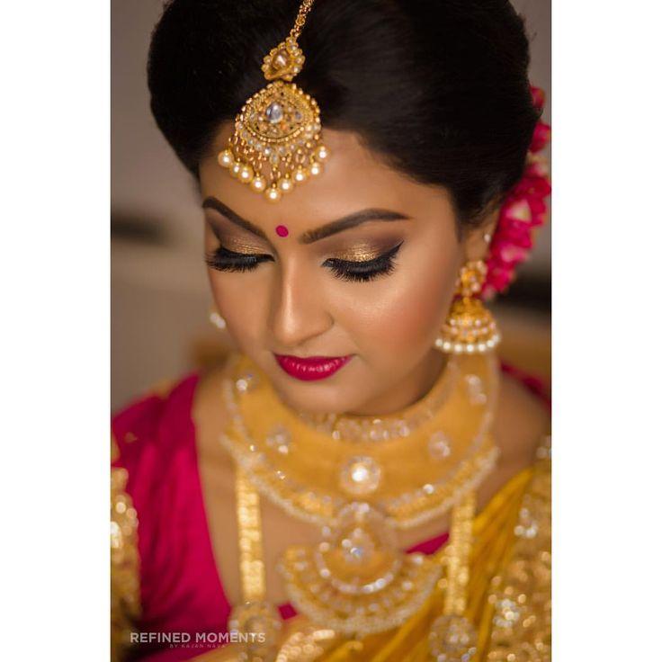 "213 likerklikk, 6 kommentarer –  Refined Moments   (@refined_moments_uk) på Instagram: ""MUA: @thushi_mua #refinedmoments  #momentsbykajan #love #Wedding #Hinduwedding #bride #tamilbride…"""